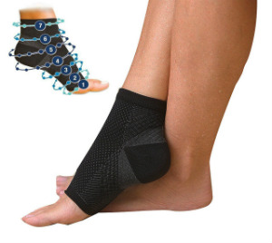 New-Hot-1-Pair-Foot-Compression-Socks-Anti-Fatigue-Angel-Circulation-Ankle-Swelling-Relief-Magic-Socks
