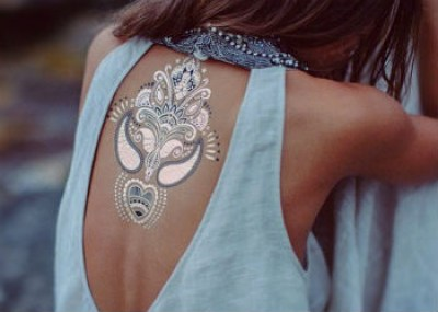 Флеш тату Metallic Jewelry Tattoos